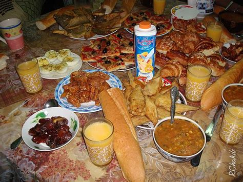 table de ramadan nassira