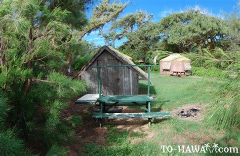 oahu cing malaekahana cabins cground to hawaii