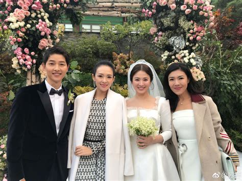 yoo ah in song song wedding su mang and zhang ziyi among the attendees at the song