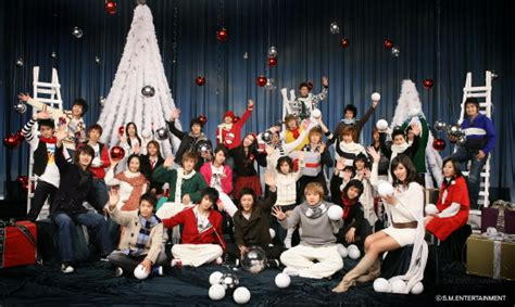 christmas kpop wallpaper kpop channel images sm town christmas 2010 wallpaper and