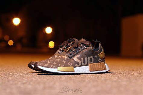 Adidas Nmd Lv X Supreme sneakersnbonsai envisions a supreme x louis vuitton adidas nmd r1 custom kicks