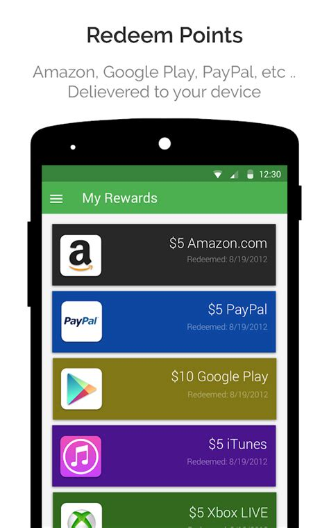 Earn Play Store Gift Card - appkarma rewards gift cards android apps on google play