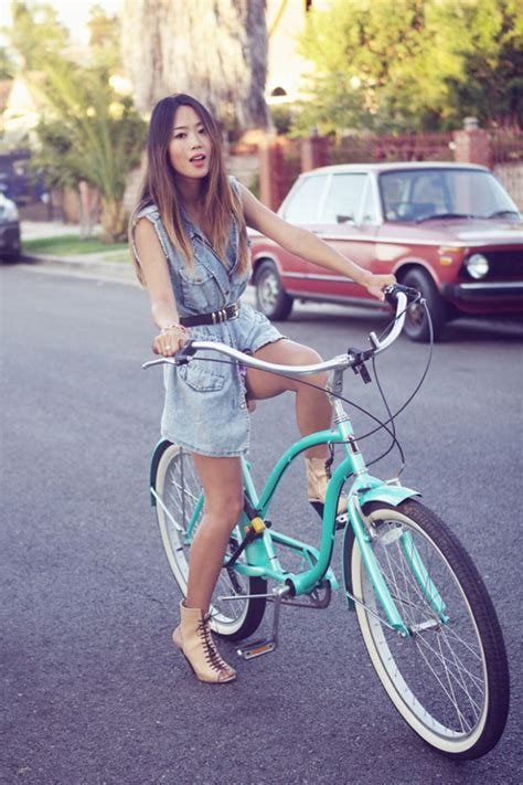 Cycling Chic Style by What To Wear Bicycling Cycling Chic Style Looks