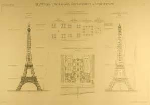 Eiffel Tower Floor Plan Eiffel Tower Blueprints Silodrome