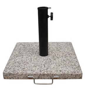 Patio Umbrella Granite Base Shop Garden Treasures Yellow Gold Granite Umbrella Base At