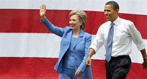 Six Degrees Of Obama And Clinton by How Obama Will Caign For Clinton Politico