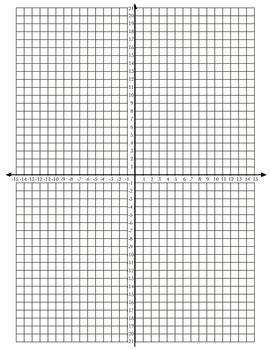 grid pattern def 4 quadrant coordinate grid vertical by sarah gilbert tpt