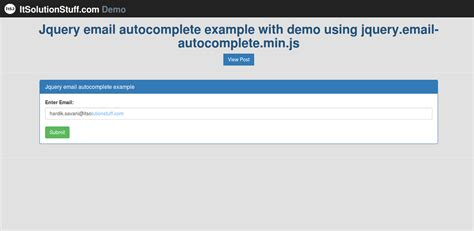tutorial jquery php autocomplete barcode tag it solution stuff