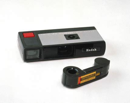 kodak pocket instamatic camera and film, 1972. at science