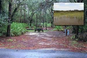 florida cing map lake kissimmee state park cground map