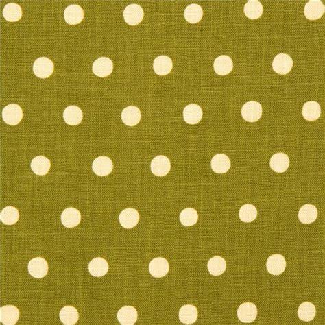 Canvas Laminating Polka Sedang olive green echino laminate canvas fabric with beige polka dots laminates fabric shop modes4u