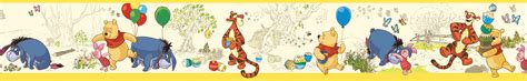 Wall Decor Stickers For Nursery york wallpaper winnie the pooh yellow disney pooh toile