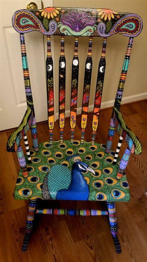 vibrant diy painted chair design ideas