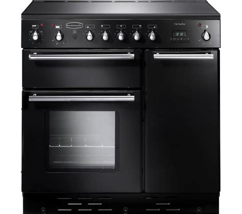 electric induction range cookers buy rangemaster toledo 90 electric induction range cooker black satin free delivery currys