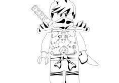 ninjago mech coloring pages lego ninjago kai fire mech coloring page printable