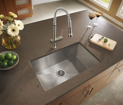 contemporary kitchen sinks a contemporary twist