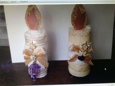 velas hechas con toallas faciales para recuerdos de bautizo o primera comunion toallas faciales en forma de vela souvenir para 1era comuni 243 n o confirmaci 243 n toallas para