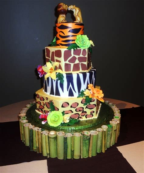 wedding cake zoo wedding at the zoo cakecentral