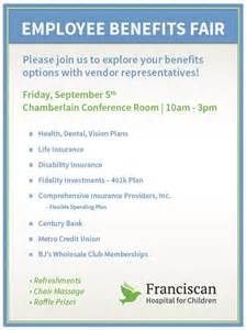 employee benefits fair franciscan children s