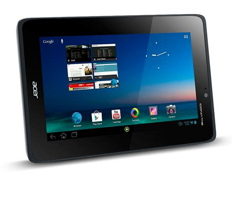 acer android tablet acer iconia tab a110 coming to america october 30th for 230