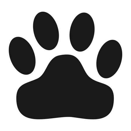 stencils | super sized | wild cat paw print stencil
