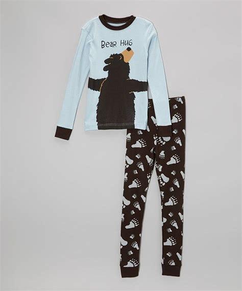 You Ve Sweet Sleepwear Oranye lazy one blue hug pajama set toddler boys kid