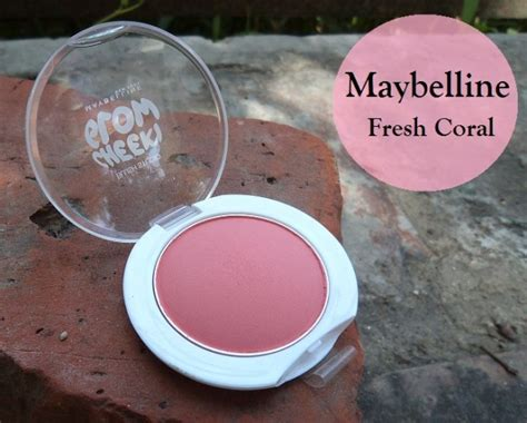 Maybelline Blush On Cheeky Glow Fresh Coral maybelline cheeky glow blush studio fresh coral swatches