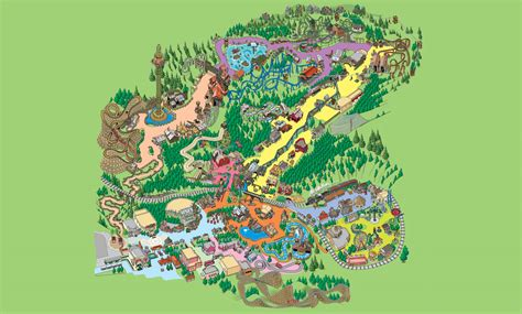 dollywood map dollywood park map smoky mountain dreams cabin resort