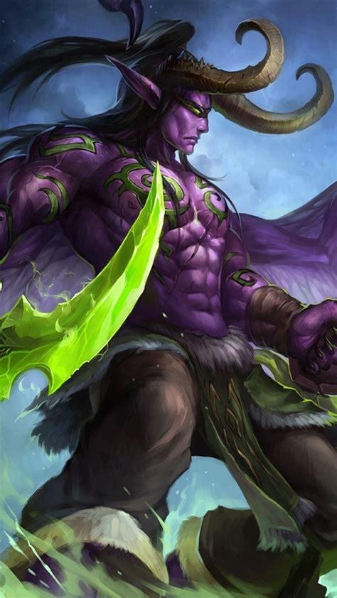 hd background illidan stormrage game character world
