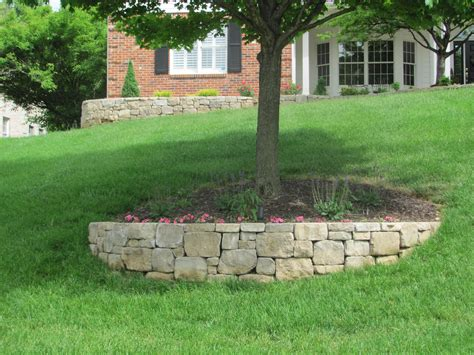 Block Retaining Walls Landscaping St Louis Landscape Block Garden Wall