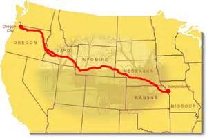 west oregon map jeff arnold s west the oregon trail