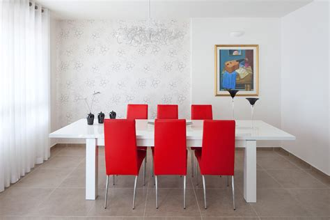 modern white dining room set white dining room table sets with contemporary wallpaper