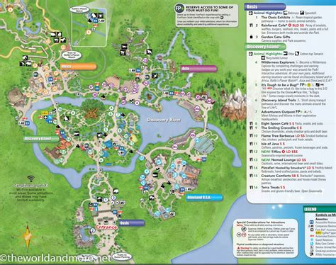 printable disney world maps printable disney park maps the world and more