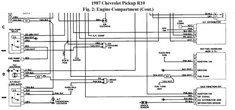 1987 chevy r 10 wiring diagram wiring diagram with