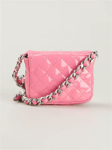 Moschino Quilted Crossbody Bag by Moschino Mini Quilted Crossbody Bag In Pink Lyst