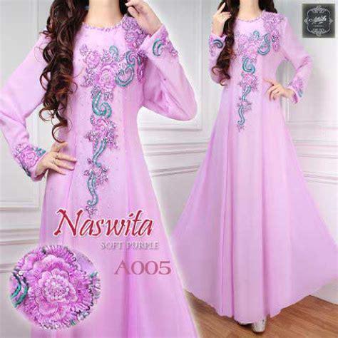 Baju Gamis Wanita Sifon Jersey Shj037 baju pesta naswita sifon a005 model busana muslim