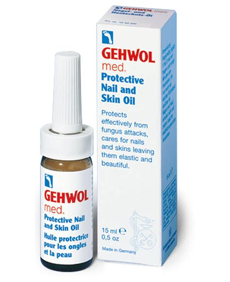 Gehwol Med Protective Nail gehwol med protective nail and skin 15ml bottle