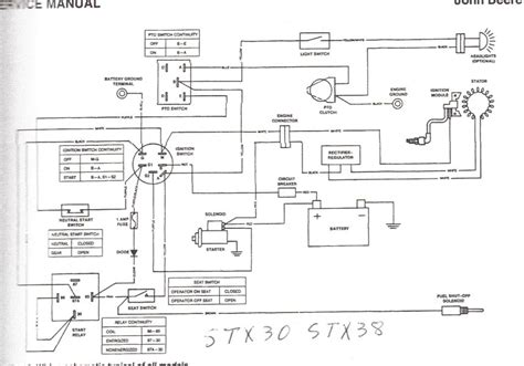 deere l130 pto wiring diagram wiring diagram with