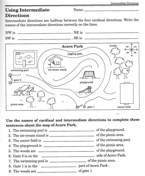 Free Skills Worksheets by Free Worksheet Map Skills Worksheets Phinixi For