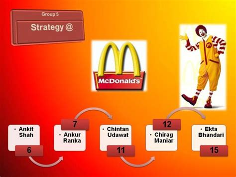 mcdonald s strategy authorstream