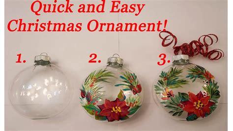 christmas ornament diy youtube