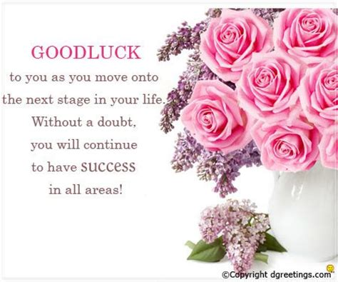 best wishing messages 10 best luck card images on best of luck
