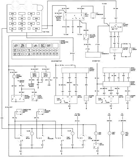 jeep tj ignition wiring diagram decor