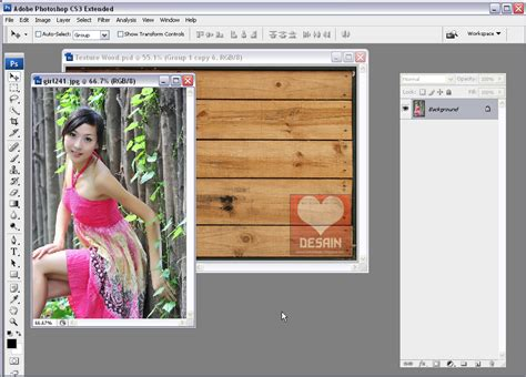 tutorial photoshop kolase photo shop coreldraw membuat gambar kolase di photoshop