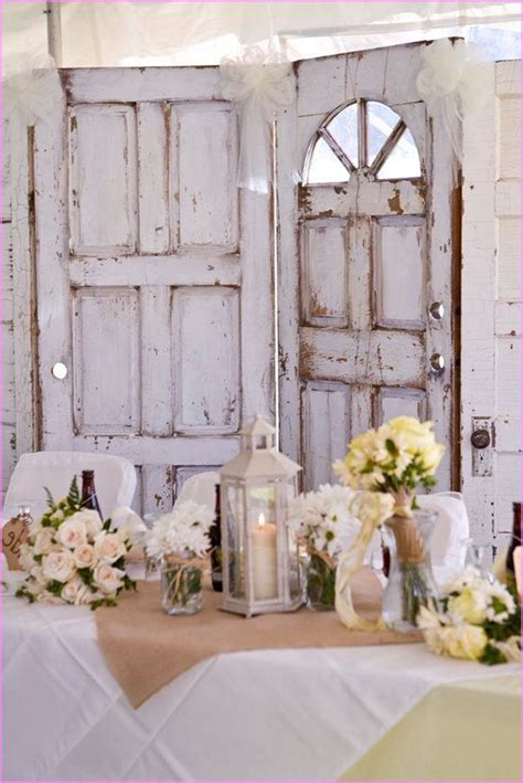 Chic Wedding Decor by Shabby Chic Wedding Decor Home Design Ideas