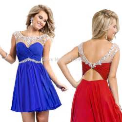 online get cheap short royal blue prom dresses aliexpress