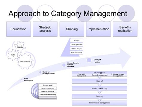 A View Of Procurement Best Practice Category Management Plan Template