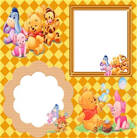 imagenes de winnie pooh para wasap gratis marcos para fotos gratis de caritas de winnie pooh bebes