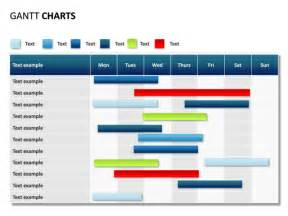 gantt chart template powerpoint template design