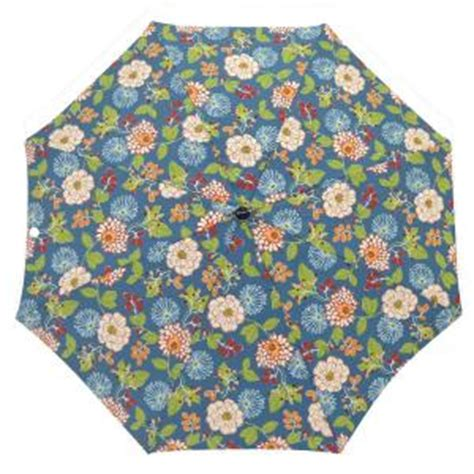 Floral Patio Umbrella Plantation Patterns 7 1 2 Ft Patio Umbrella In Ruthie Floral Discontinued 9714 01223000 The